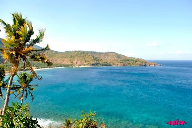 View dari Bukit Senggigi.. Kece yah..