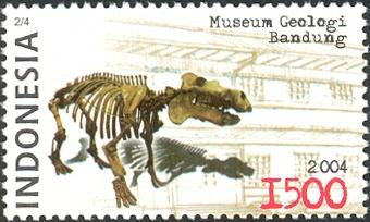 Perangko Museum Geologi.. Pic taken from here